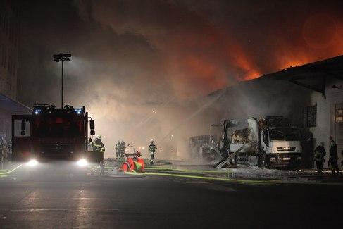 Brandanschlag auf Bundeswehrdepot in Oldenburg